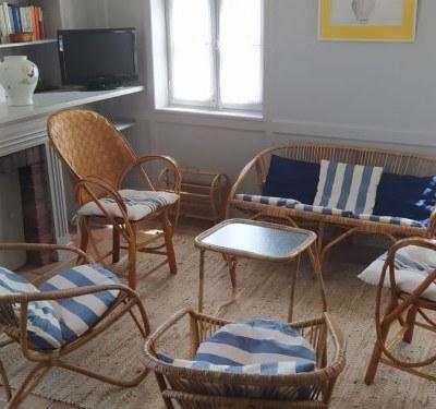 Maison à St Denis d'Oléron à 300m de la plage et du port au calme 120m²