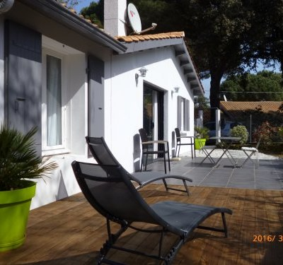 Maison rénovée 2 chambres avec jardin