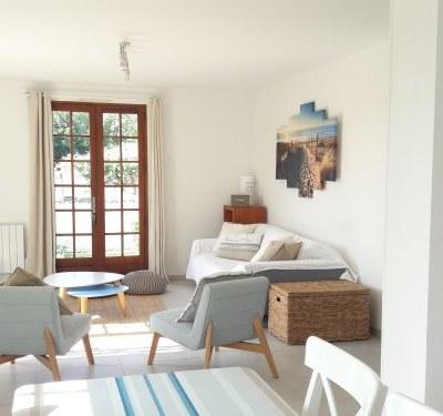 Maison rénovée au calme, jardin, plages