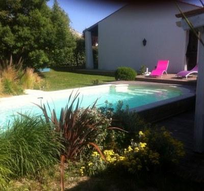 Maison 110 m2 avec piscine chauffée